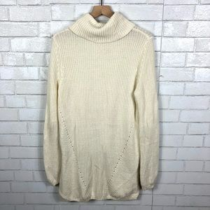 Anthropologie Sweaters - Anthropologie, Moth, High Low Cowl Neck Sweater